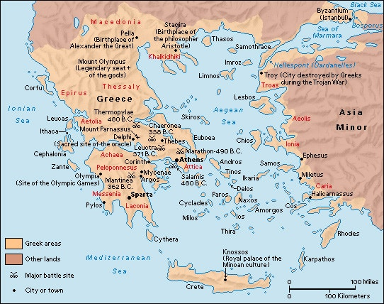 Sea Of Marmara Ancient Greece Map.City States Colonisation 7hcc Ancient Greek Society